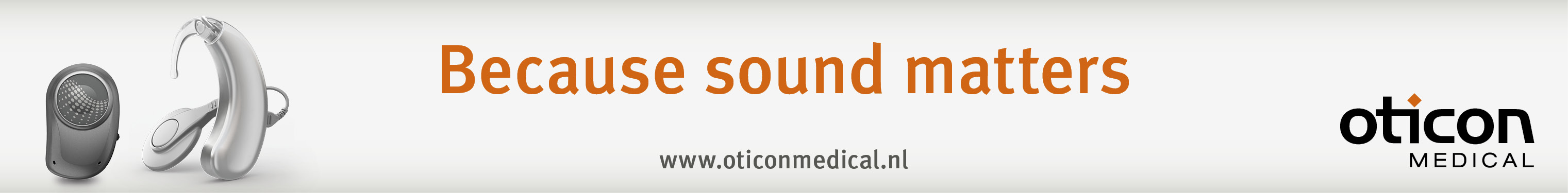 Banner Oticon Medical Ponto Neuro