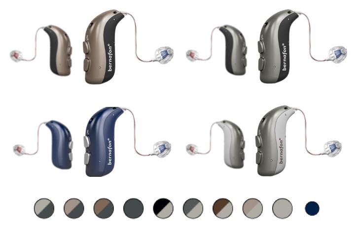 Bernafon Alpha gehoorapparaat kleuren
