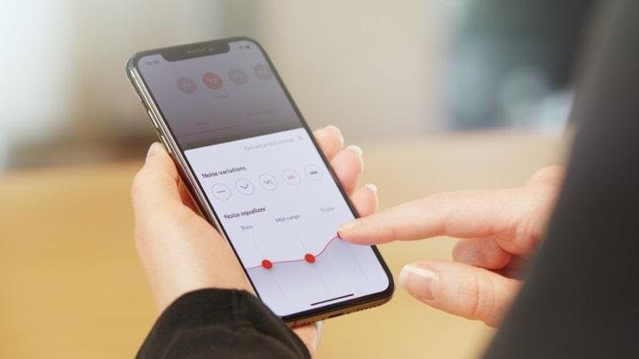 Bernafon Alpha app bedienen hoortoestel
