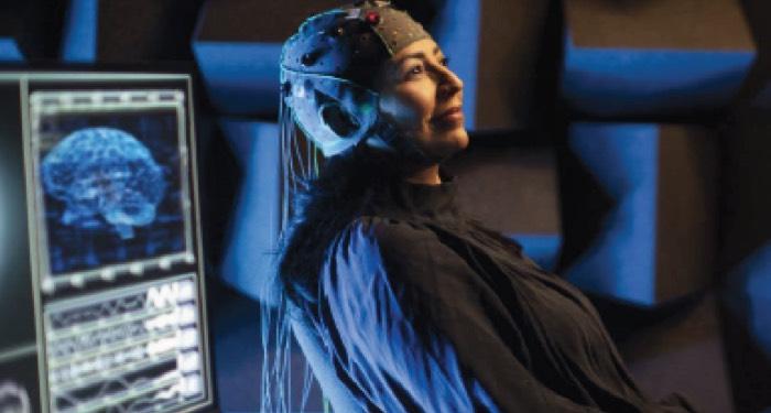 EEG onderzoek selectieve aandacht Oticon Opn S