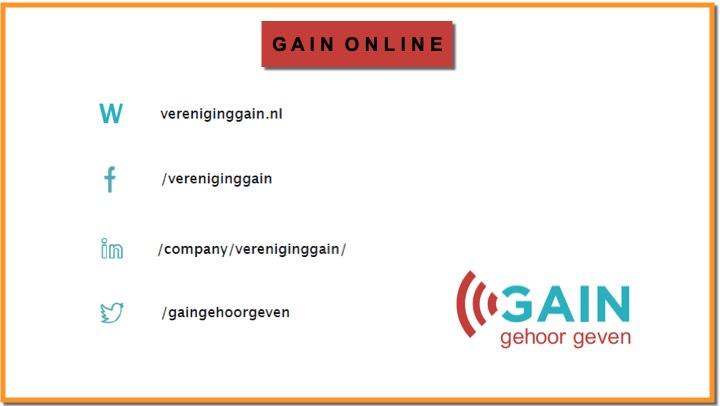 Vereniging GAIN online