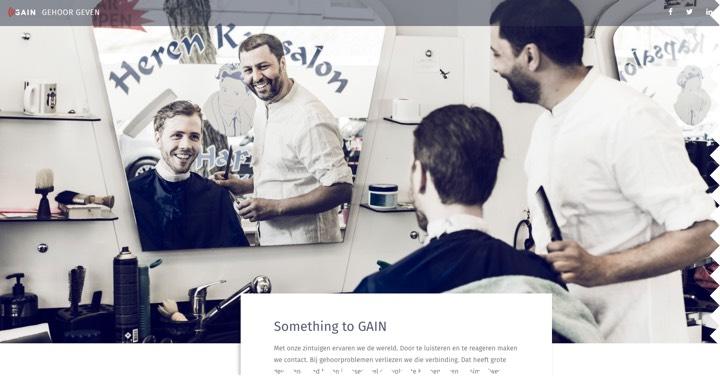 Nieuwe website vereniging GAIN