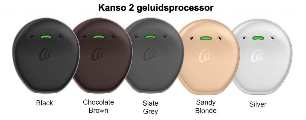 kleuren Kanso 2 geluidsprocessor cochlear