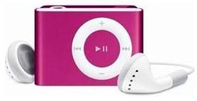 MP3-speler harde muziek
