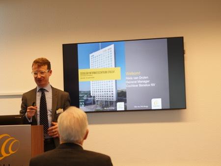 Niels van Druten opening cochlear informatiecentrum Utrecht