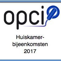 OPCI huiskamerbijeenkomsten 2017