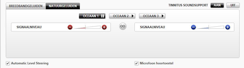 Oticon Tinnitus Genie Oceaangeluiden