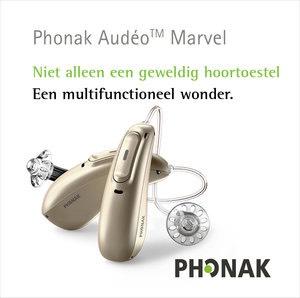 Achter het oor hoortoestel - Sponsor