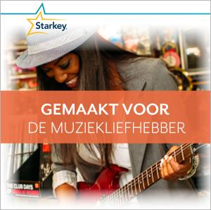 Starkey Muse hoortoestel voor de muziekliefhebber