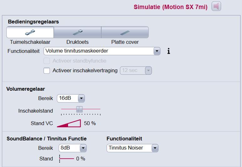 Siemens Motion Tinnitus hoortoestellen