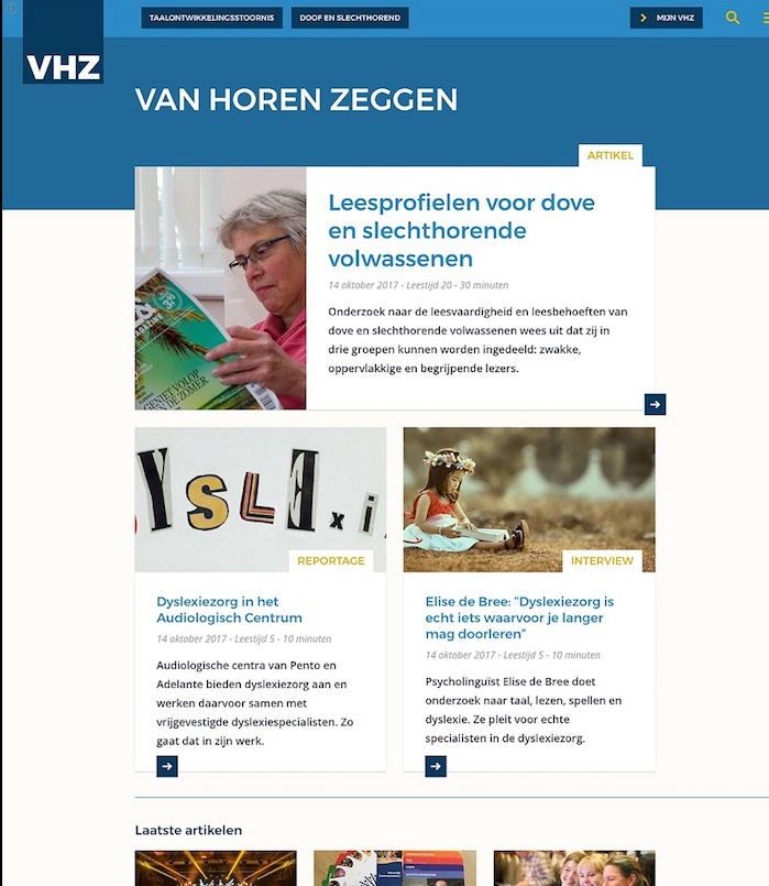 Tijdschrift Van Horen Zeggen online