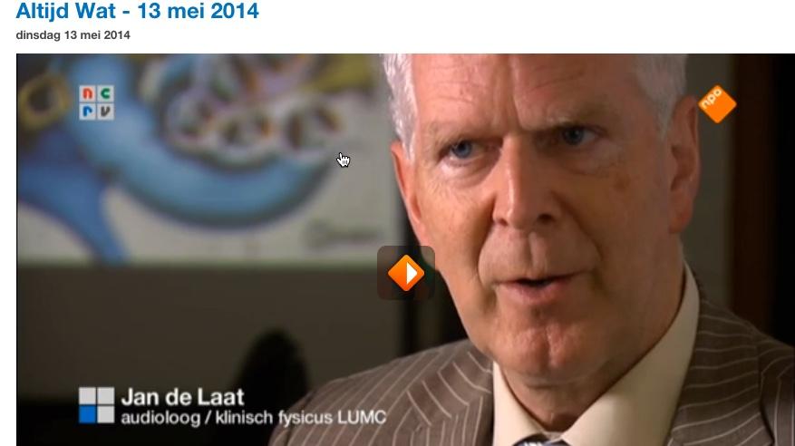 altijd wat uitzending mei 2014 met Jan de Laat
