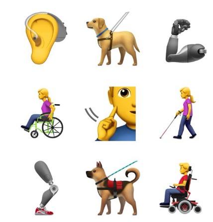 emoji's beperking emoji hoortoestel