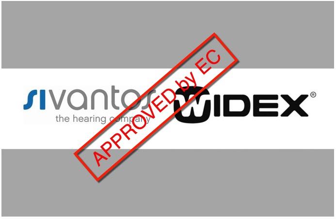 fusie widex en sicantos goedgekeurd door eurpese commissie