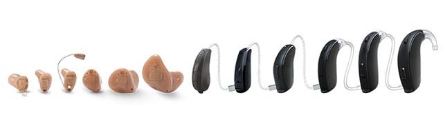 gehoorapparaat verschillende soorten