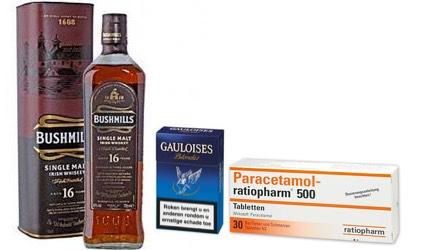 gehoorschade roken drinken medicijnen