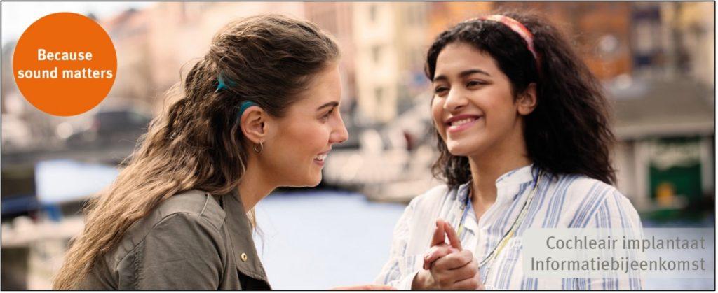 informatiebijeenkomsten cochleaire implantatie oticon medical najaar 2021