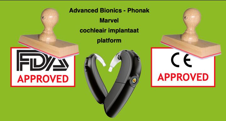 marvel cochleair implantaat platform ce goedgekeurd