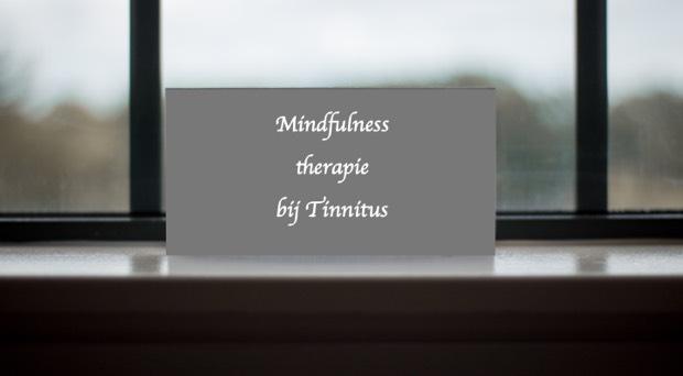 Hoorzaken - Speciale mindfulness therapie bij tinnitus helpt