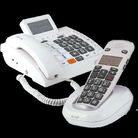 scalla 3 telefoon voor slelchthorenden