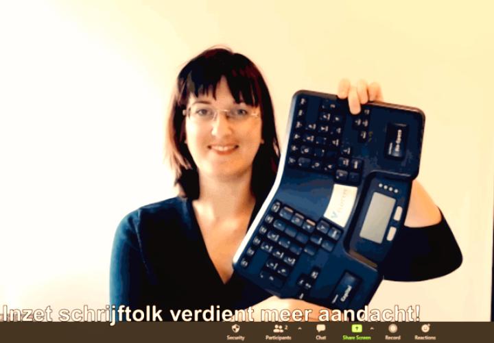 schrijftolk-renee-damstra-velotype-toetsenbord-zoom