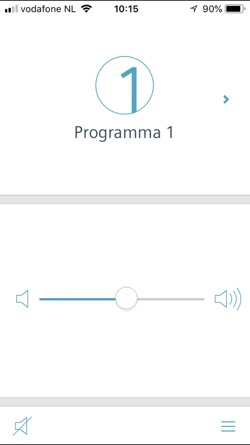 touchControl App Signia
