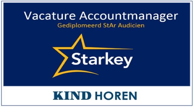 vacature audicien accountmanager starkey