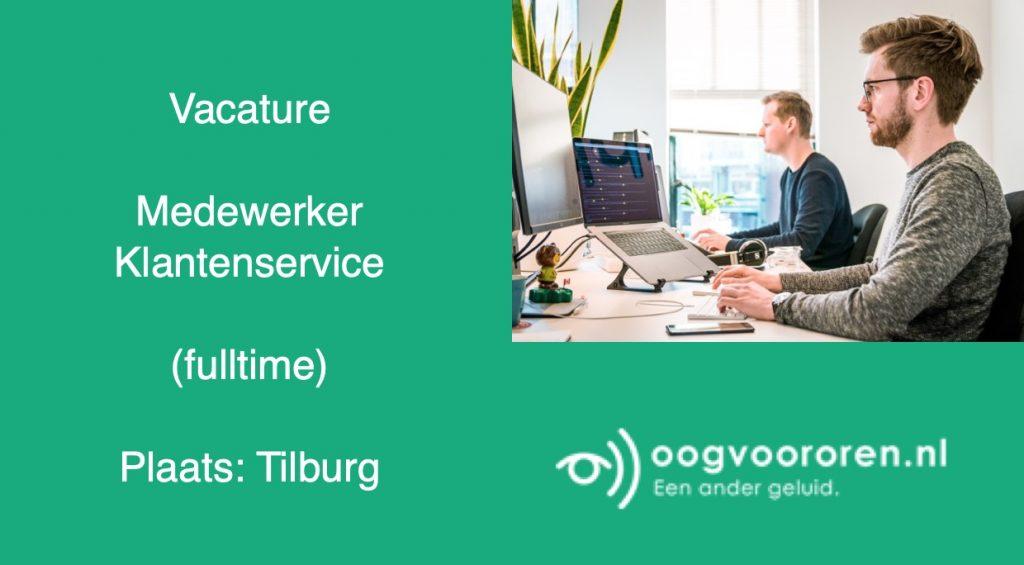 Vacature medewerker klantenservice oogvoororen.nl
