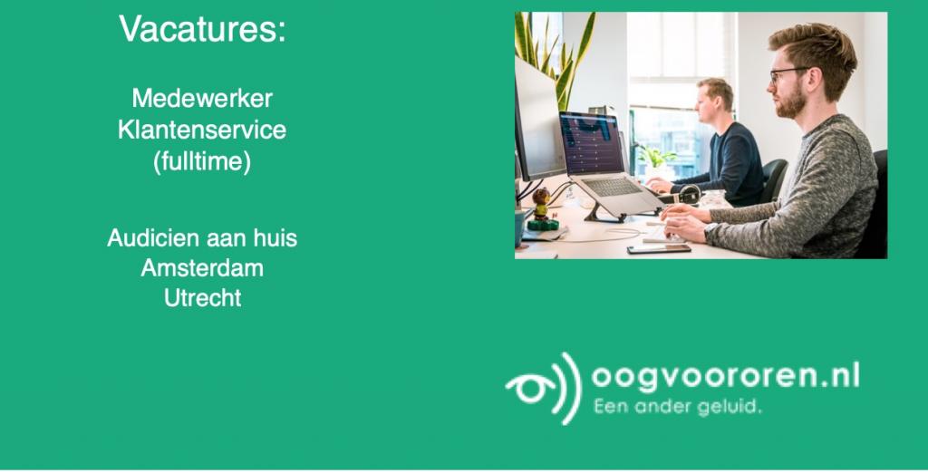vacature audicien bij oogvoororen.nl