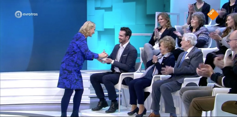 audicien Michiel Schut van Specsavers krijgt warme douche bij Radar