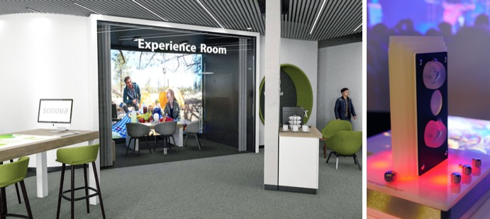 world of hearing experience room
